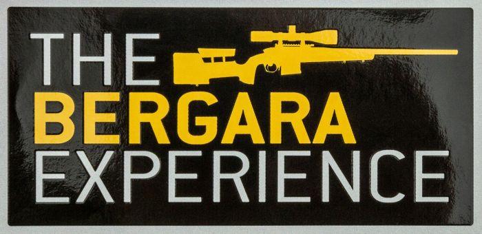 BERGARA EXPERIENCE STICKER