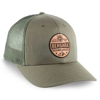 BERGARA MTN LEATHER PATCH CAP