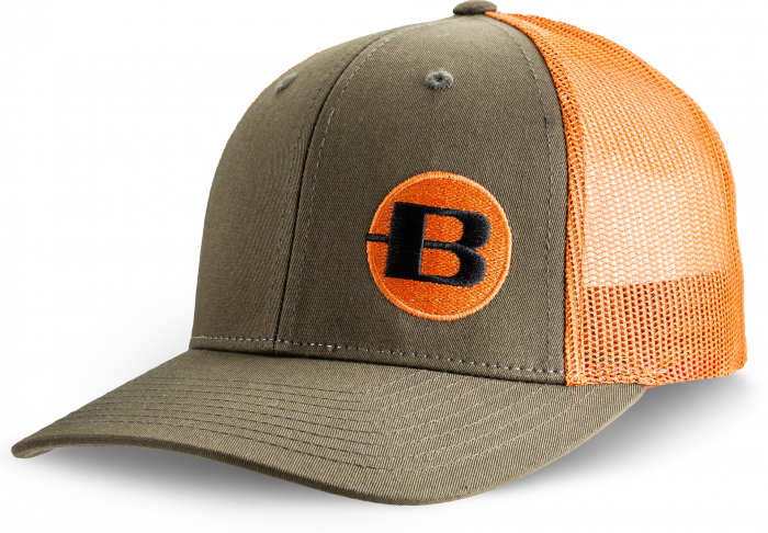 BERGARA CAP GREEN/ORANGE