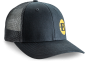 BERGARA CAP BLACK/YELLOW 115