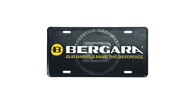 BERGARA LICENSE PLATE