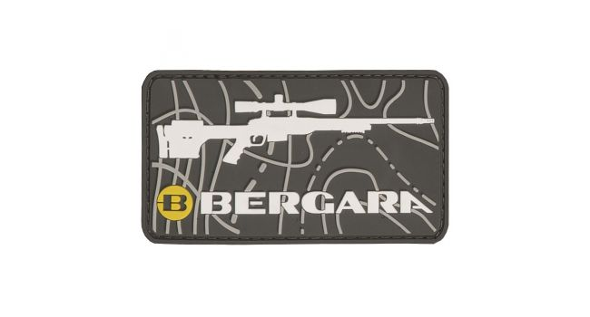 BERGARA PATCH - WHITE GUN