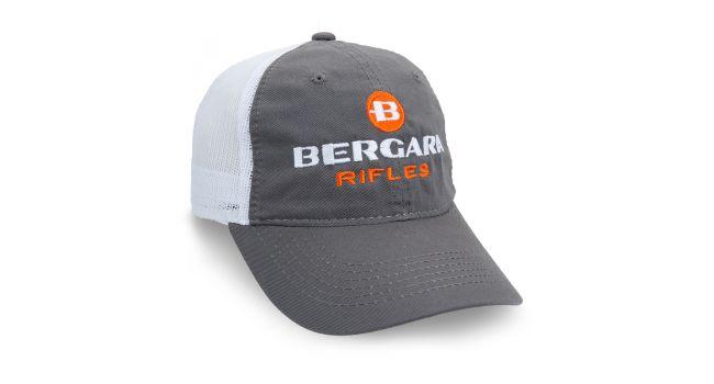 BERGARA GRAY/WHITE MESH CAP