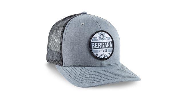 BERGARA MTN GRY/BLK PATCH CAP
