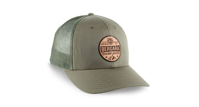 BERGARA MTN LEATHER PATCH CAP