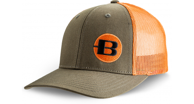 BERGARA CAP GREEN/ORANGE